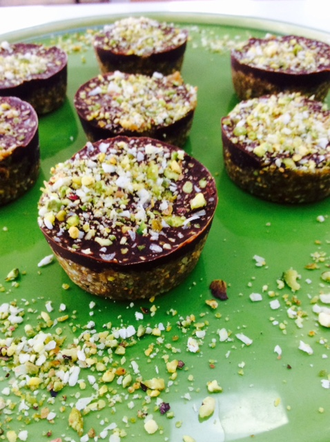 Fig and Pistachio Cups